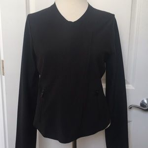 Black biker style jacket new with tags
